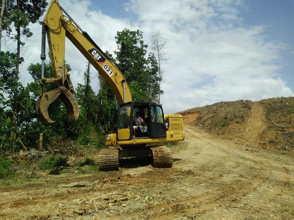 Proyek Land Clearing & Harvesting